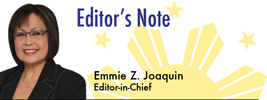 Emmie Z. Joaquin, Editor-in-Chief
